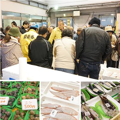 岡山の市場